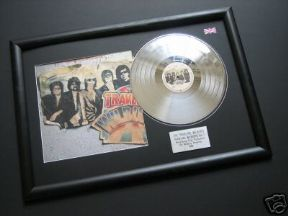 TRAVELING WILBURYS -THE TRAVELING WILBURYS VolUME One PLATINUM LP & Cover presentation DISC
